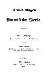 Geschichte der neuesten Poesie und Philosophie seit Lessing; oder, unsere Klassiker und Romantiker