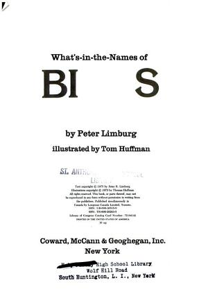 What s in the names of Birds PDF