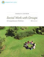 Brooks Cole Empowerment Series  Social Work with Groups  A Comprehensive Workbook PDF