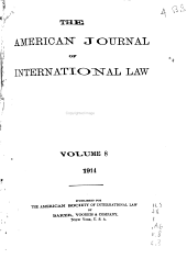 The American Journal of International Law