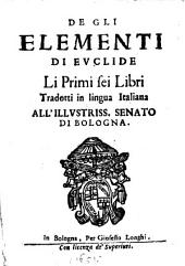 De gli Elementi di Euclide li primi sei libri