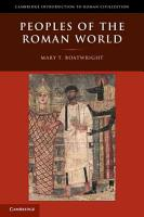 Peoples of the Roman World PDF