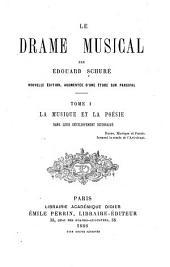 Le drame musical: La musique et la poésie