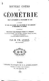 Nouveau cours de géométrie rédigé conformément au programme de 1866, etc