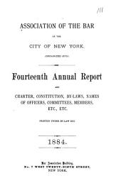 Annual Reports and Charter, Constitution, By-laws, Names of Officers, Committees, Members, Etc., Etc