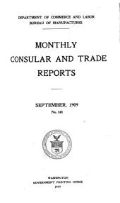 Monthly consular and trade reports: Volume 91, Issues 348-351