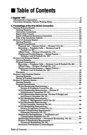 NCAA Convention Proceedings PDF