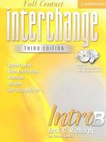Interchange Third Edition Full Contact Intro B PDF
