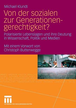 Von der sozialen zur Generationengerechtigkeit  PDF
