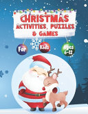 Christmas Activities  Puzzles  and Games for Kids Ages 6  12 PDF
