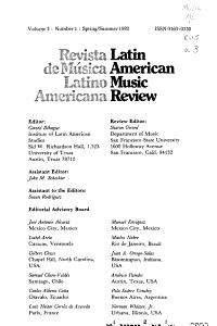 Latin American Music Review PDF