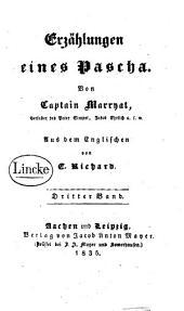 Erzählungen eines Pascha: Band 3