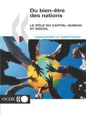 Du bien-être des nations Le rôle du capital humain et social: Le rôle du capital humain et social