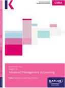 P2 ADVANCED MANAGEMENT ACCOUNTING   EXAM PRACTICE KIT PDF