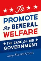 To Promote the General Welfare PDF