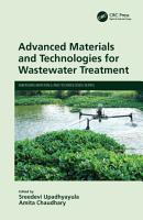 Advanced Materials and Technologies for Wastewater Treatment PDF