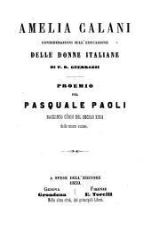 Amelia Calani: considerazioni sull' educazione delle donne italiane