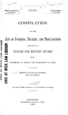 Acts of Congress  Treaties  Proclamations  Decisions of the Supreme Court of the United States PDF