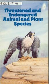 Threatened and endangered animal and plant species