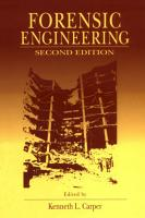 Forensic Engineering  Second Edition PDF