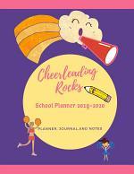 Cheerleading Rocks School Planner 2019-2020