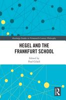 Hegel and the Frankfurt School PDF