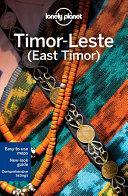 Timor Leste  East Timor  PDF
