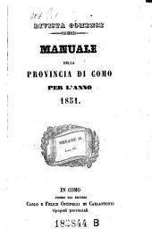 Almanacco Della Provincia Di Como: Volume 8