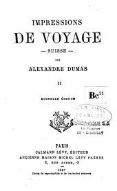 Impressions de voyage: Suisse, Volume3