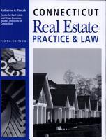 Connecticut Real Estate Practice   Law PDF