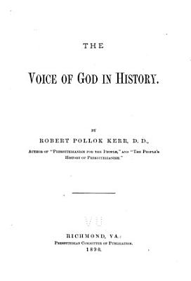 The Voice of God in History PDF