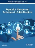 Reputation Management Techniques in Public Relations PDF