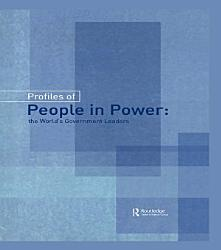 Profiles Of People In Power Book PDF