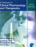 A Textbook of Clinical Pharmacology and Therapeutics, 5Ed