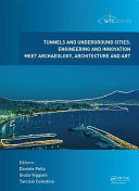 Tunnels and Underground Cities PDF