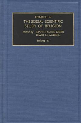 Research in the Social Scientific Study of Religion PDF