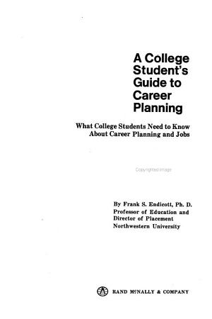 A College Students Guide to Career Planning PDF