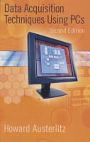 Data Acquisition Techniques Using PCs PDF