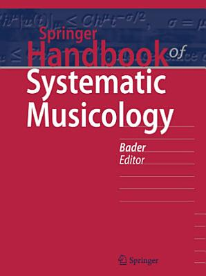Springer Handbook of Systematic Musicology PDF