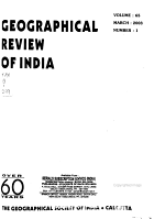 Geographical Review of India