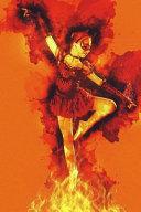 Ballerina Dancing in Fire   Ballet Dancer Journal PDF