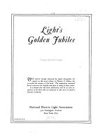 Light's Golden Jubilee ...