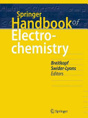 Springer Handbook of Electrochemistry