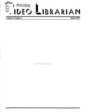 The Video Librarian
