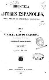 Obras del v.p.m. Fray Luis de Granada: Volumen 2