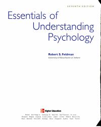 Essentials Of Understanding Psychology Book PDF