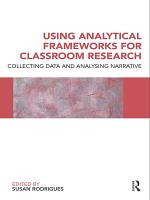 Using Analytical Frameworks for Classroom Research PDF