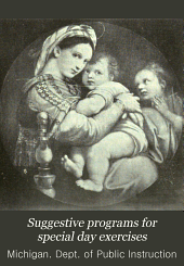 Suggestive Programs for Special Day Exercises