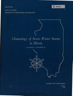 Climatology of Severe Winter Storms in Illinois Book