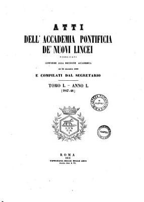 Atti Dell  Accademia Pontificia de Nuovi Lincei  PDF
